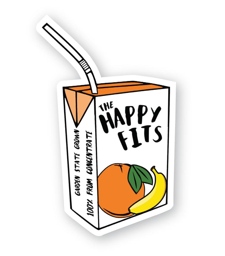 Die-Cut Juicebox Sticker